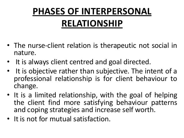 interpersonal relationships development and deterioration essay Social & cognitive development: impact on interpersonal in the development of interpersonal relationships development: impact on interpersonal.