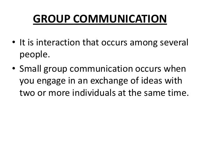 Communication in relationships essay