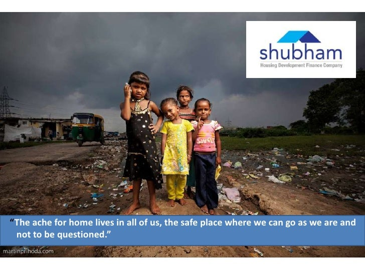 Communication concept for Shubham Low Cost Housing