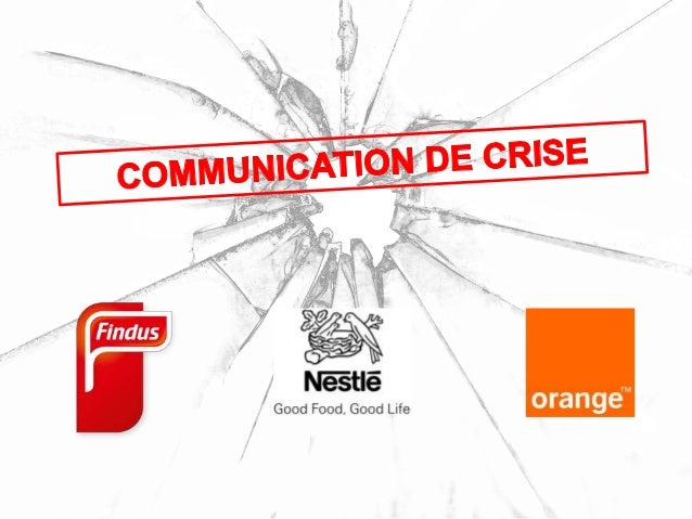 3 cas de crise en parallèle : Intensité Phases 4 phases de la communication de crise :
