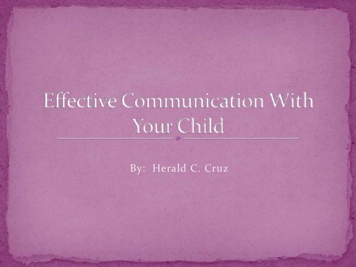 Communication jesus cares