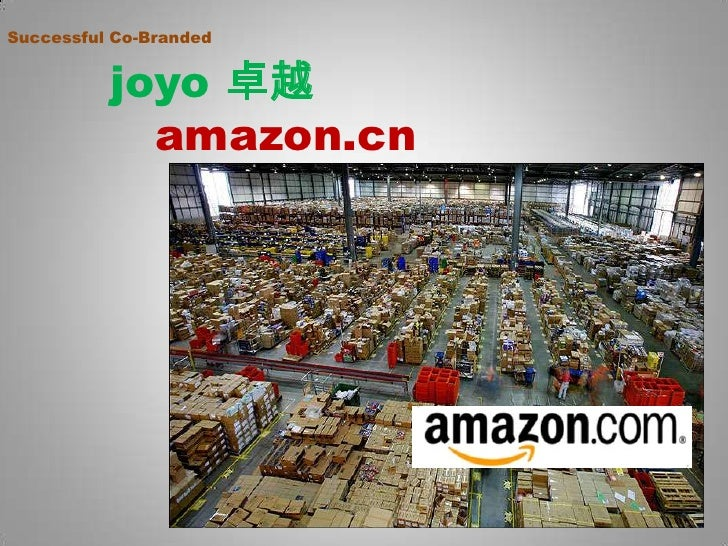 Successful Co-Branded joyo卓越          amazon.cn<br />