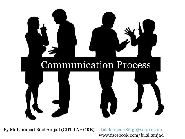 Communication ProcessBy Muhammad Bilal Amjad (CIIT LAHORE)    bilalamjad78633@yahoo.com                                   ...