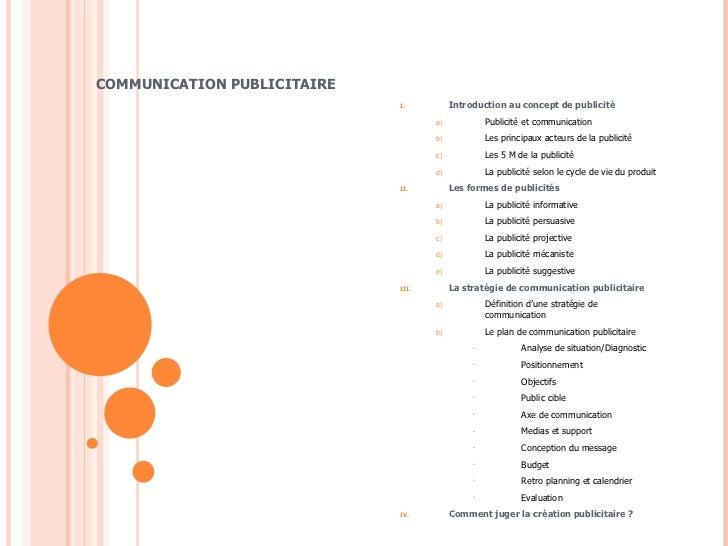Communication publicitaire
