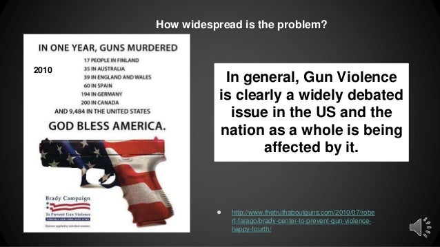 a discussion of the issue of violence in america Violence in america - effective solutions  the medical literature on guns is the discussion of the costs of gun violence without any consideration of the .