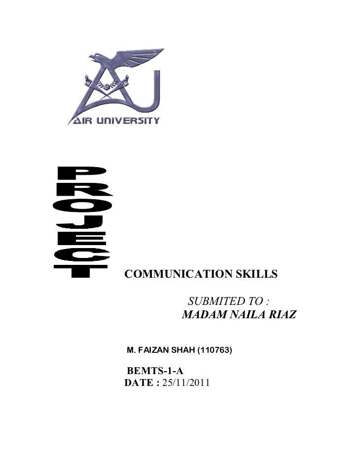 Communication skill1