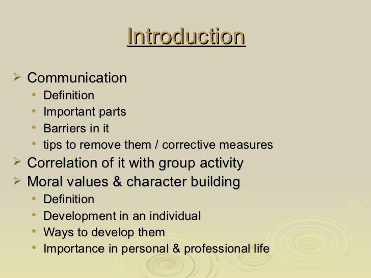 Importance of moral values in life essay