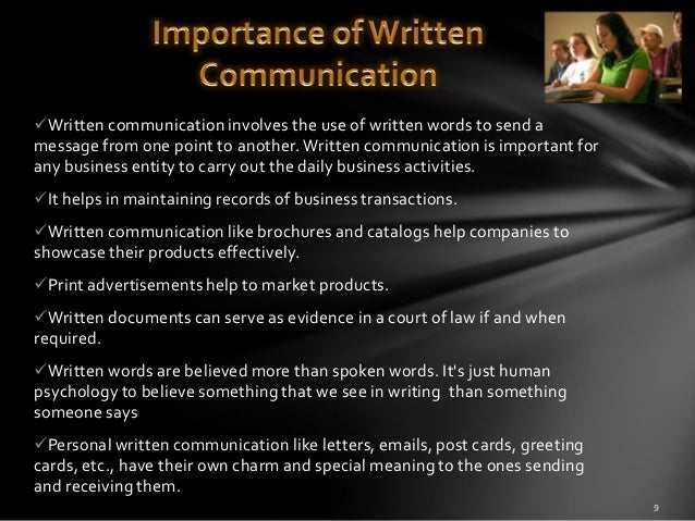 the importance of communication essay Such feelings usually make communication more good communication starts with listening i talk about the importance of listening as the foundation to.
