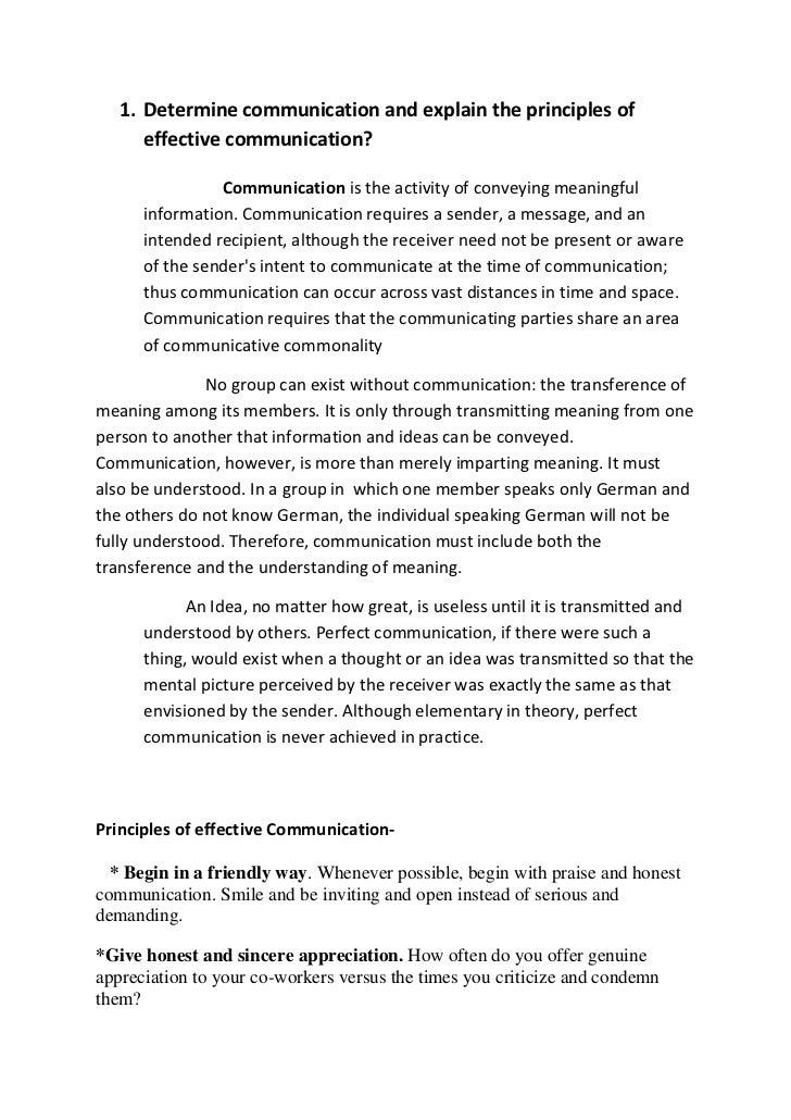 Communication skills for_internals