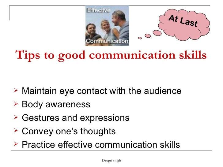 essays on nonverbal communication skills