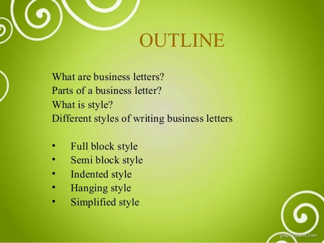 different styles of letter writing Types of letter format as mentioned above different types of letter writing follow certain formats which have been established over the years letter formats are.