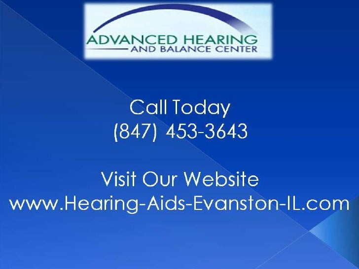 Communication           Strategies for the           Hearing ImpairedCall Today                             (847) 453-3643...