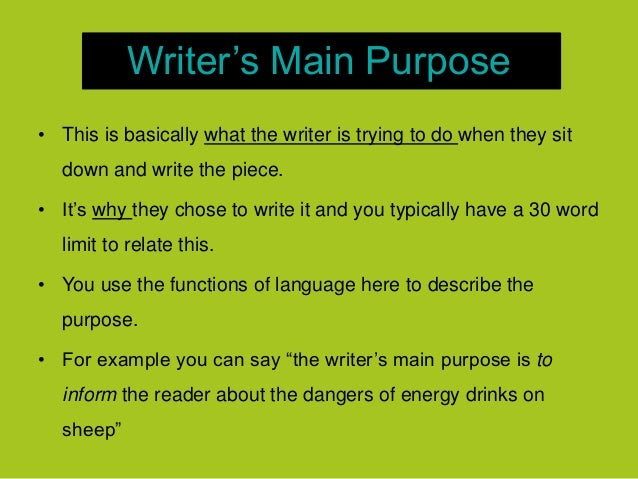 What is the primsry purpose of an expository essay?