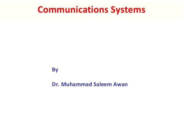 Communication systems v5