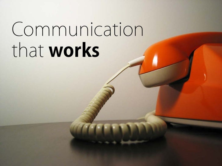 Communicationthat works