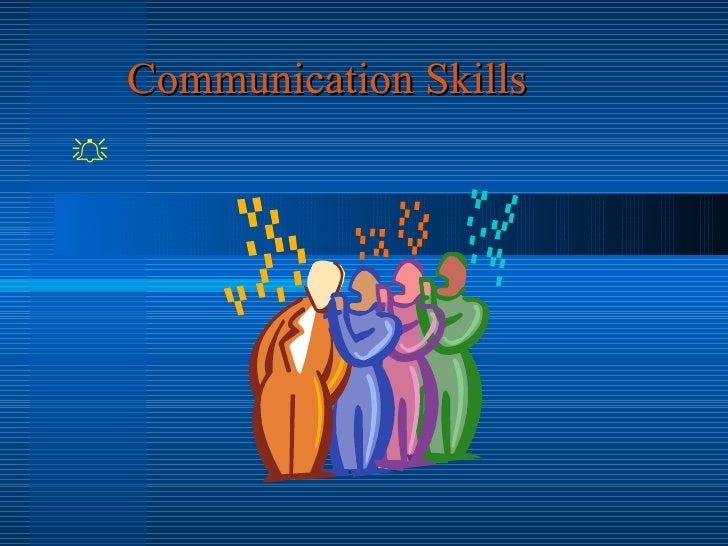 Communication Skills 