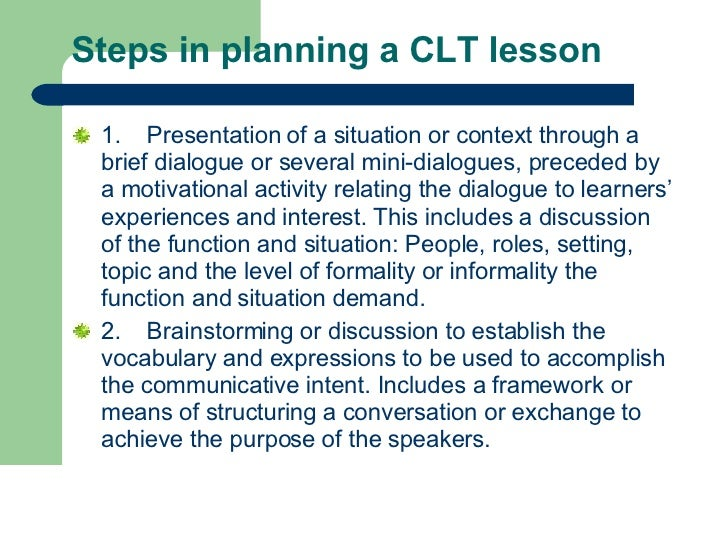emergence of communicative language teaching The history of communicative language teaching (clt) and its use in the classroom  captain timothy kibbe  this paper was completed and submitted in partial fulfillment of the master teacher program, a 2-year faculty professional development program conducted by the center for faculty excellence, united states military academy, west point, ny, 2017.