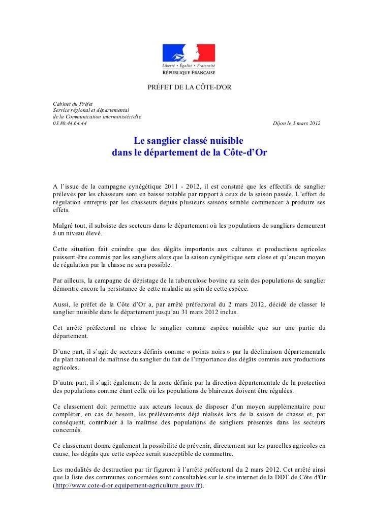 Cabinet du PréfetService régional et départementalde la Communication interministérielle03.80.44.64.44                    ...