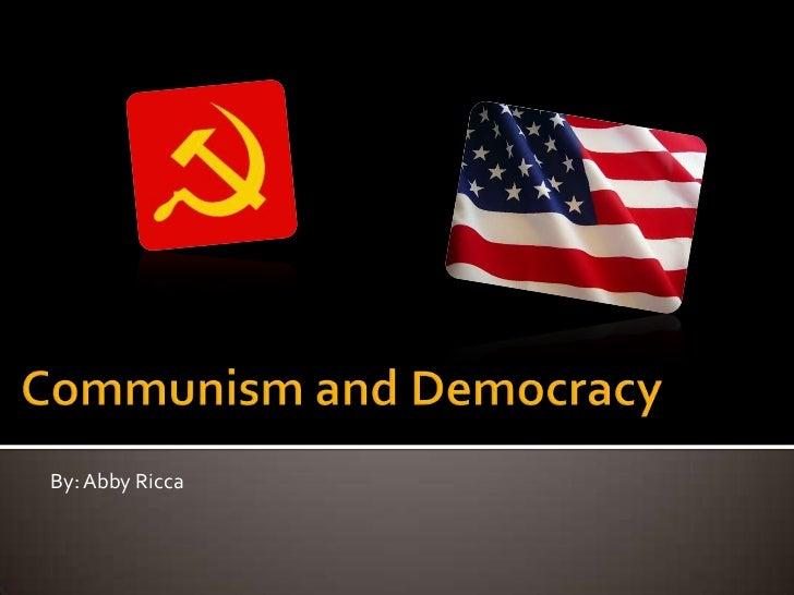 communist vs democratic