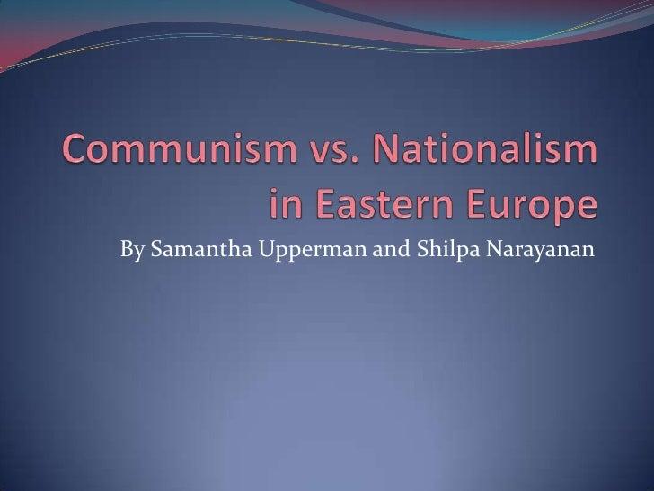 Communism vs Nationalism