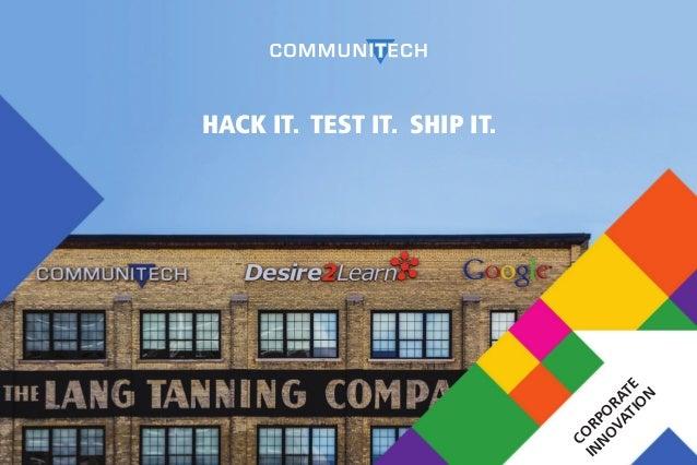 Communitech chosen as development site for self driving ...