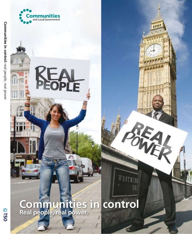 Communities in control                                                                     Real people, real power Communi...