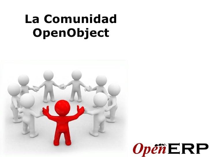 La Comunidad OpenObject