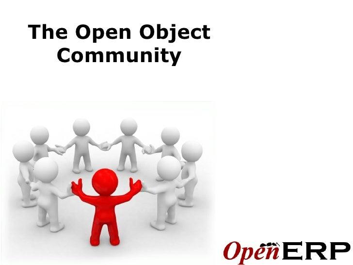 Open ERP's Community Organisation