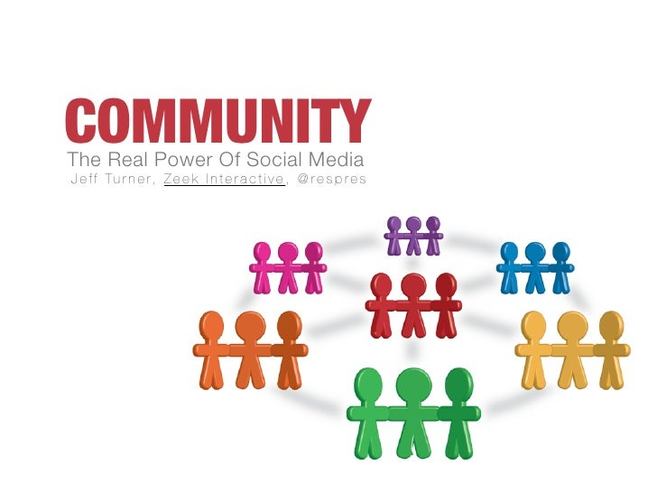Community: The Real Power Of Social Media