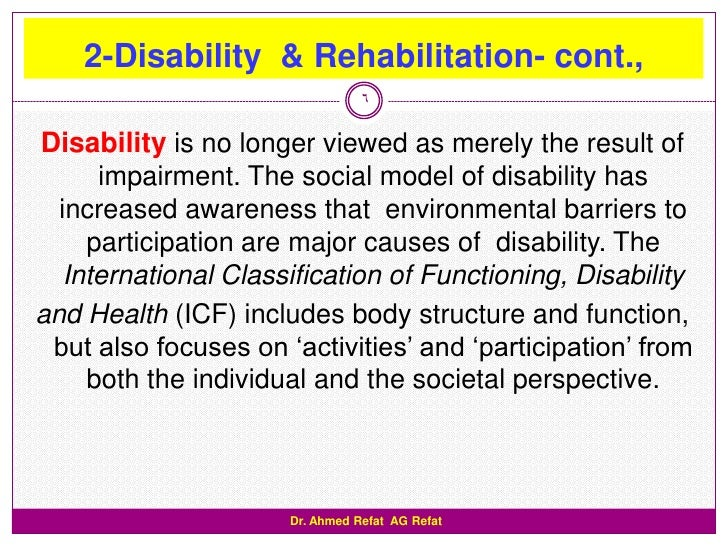 disabilities barriers to participation Inclusion and participation of people with a disability how participation varies with the type and severity of disability barriers to community participation.