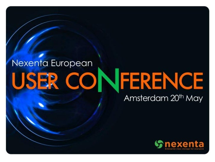 "Nexenta European User Conference 2011 - ""Community"" by Garrett D'Amore"