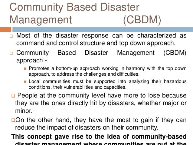 an overview of the key organizations involved in disaster managements in the united kingdom Global issues overview as the world's only truly universal global organization, the united nations has become the foremost forum to address issues that transcend national boundaries and cannot.