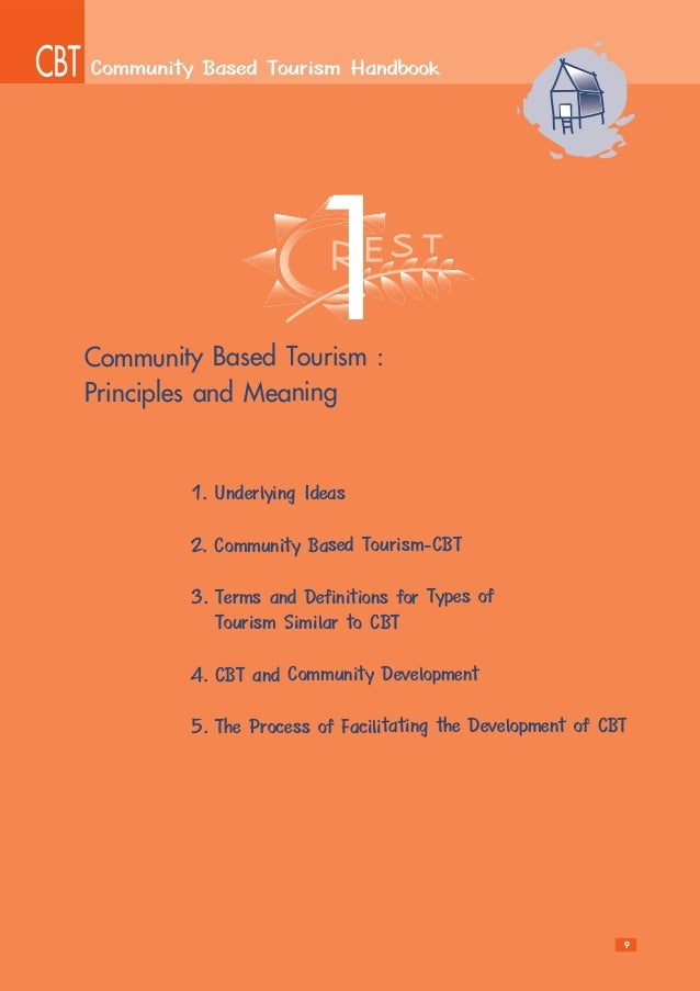 Community bassed Tourism Handbook by Potjana Suantsri, Thailand.