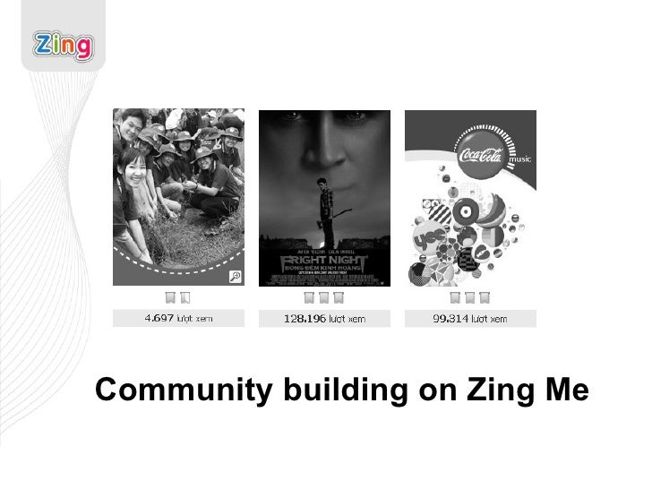 Community building on Zing Me
