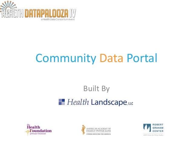 Health Datapalooza 2013: Apps Expo Health Landscape
