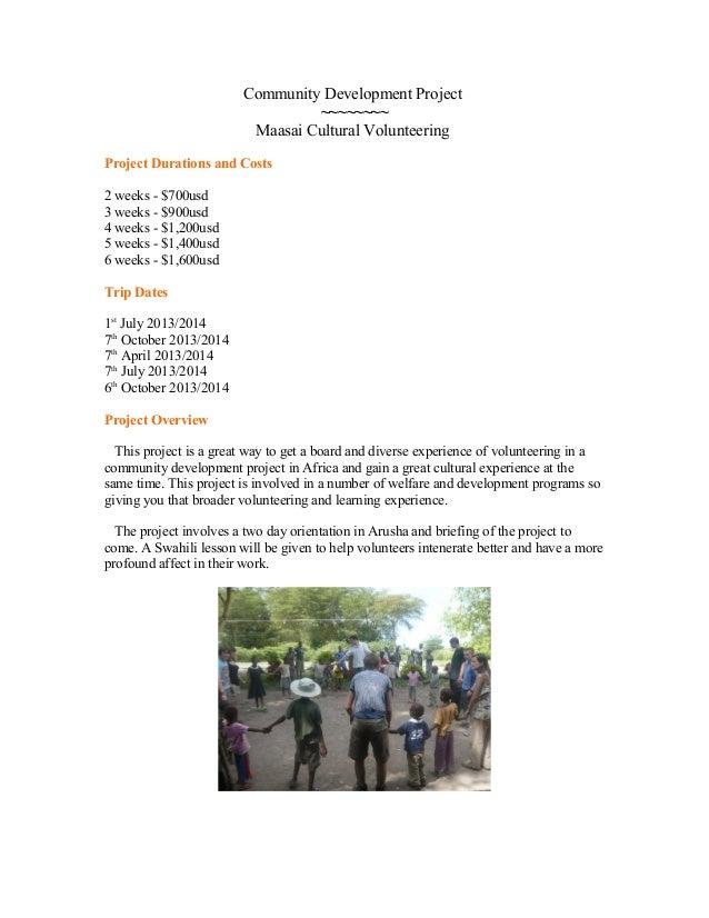 Community development project (1)
