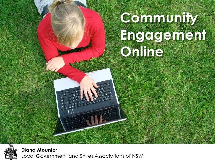 Community                                       Engagement                                       Online     Diana Mounter ...