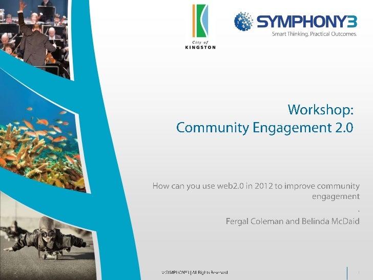Community Engagement Workshop 061211