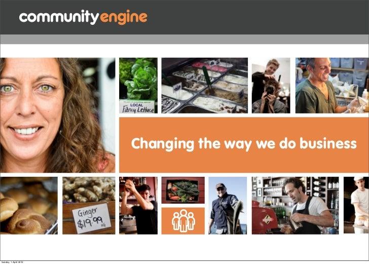 community engine for membership
