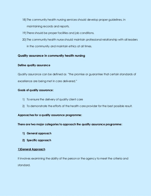 quality assurance nursing essay Related post of assurance dissertation in nursing quality on mother in punjabi language map uc denver nursing essay admission the embargo act of 1807 essay.