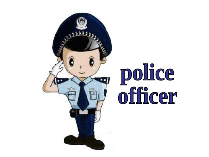 Police Officer Community Helper Clip Art Pictures to Pin on