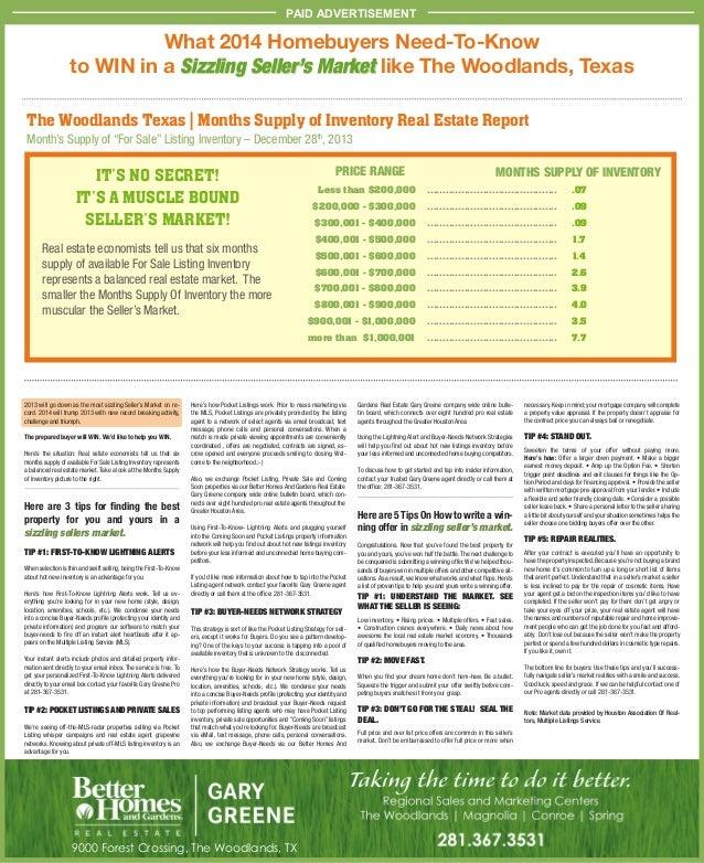 Community impact sellers market | feb 2014