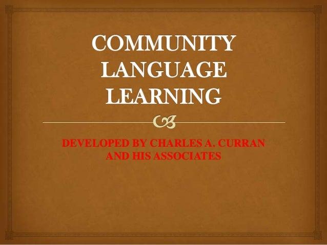 Community language learning
