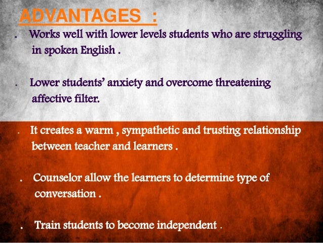 advantages of learning english language Find an english language program (esl) by jennifer privette each year, tens of thousands of students come to the usa to learn english to prepare themselves to enter.