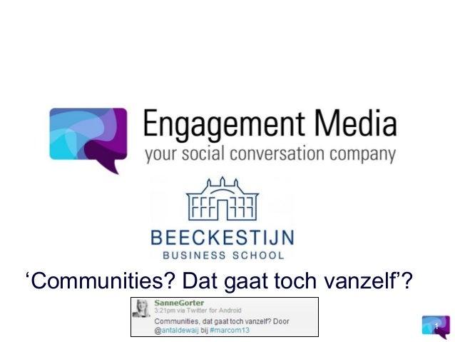 Community management do's & donts v02