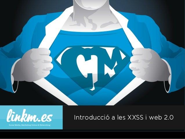 Introducció a les XXSS i web 2.0