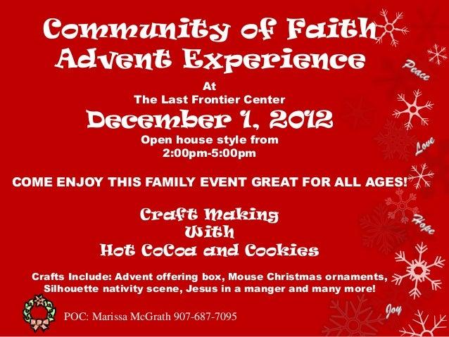 Community of faith flyer2
