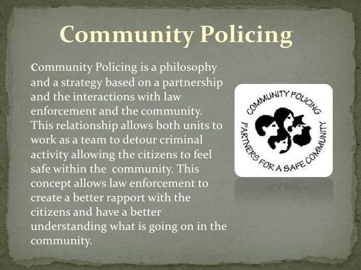 an introduction to community based policing An introduction to policing working smarter --evidence-based policing --modern response to citizens' 911 calls --directed community policing: the.