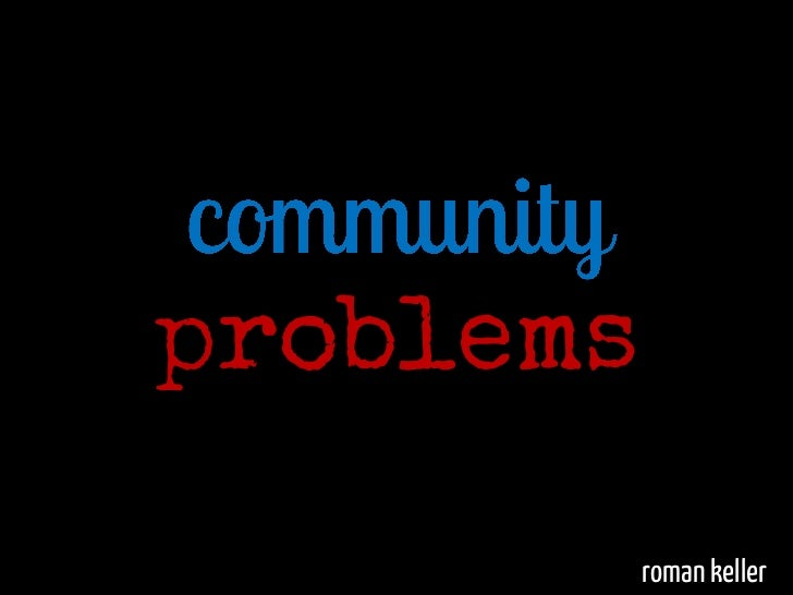 community problems The strategy tools available here, a set of ideas already tested but constantly  evolving, are to help you think about the a-z of problem-solving with others,  from.