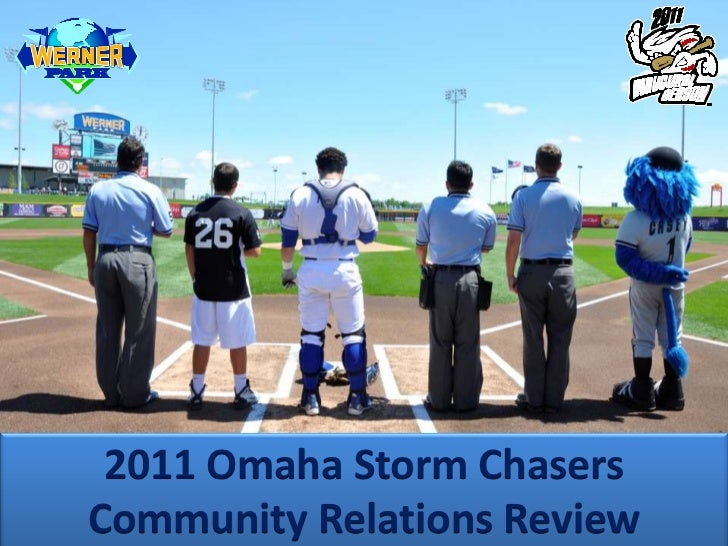 Omaha Storm Chasers Community Relations Overview